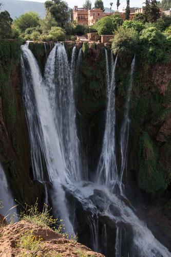 Wasserfälle in Marokko