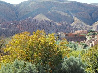 Bergwelt in Marokko
