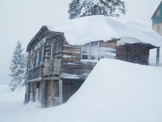 Bakhmaro, Snowstorm