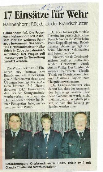 Quelle: Aller-Zeitung 2013