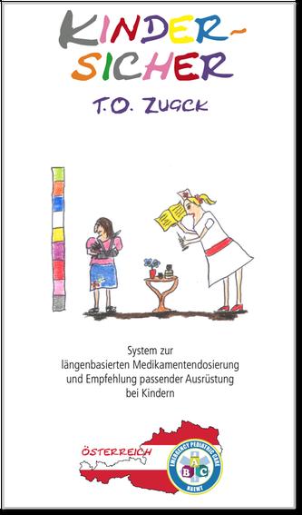 Österreichische Version des KINDERSICHER-Infoflips