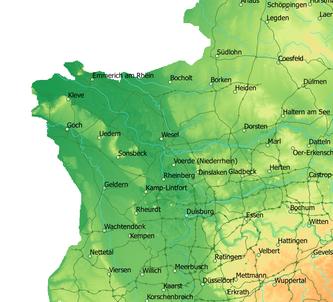 Städte im Umkreis von 50 Kilometer sind das Einzugsgebiet der Contor GmbH bei der Erstellung von Immobiliengutachten