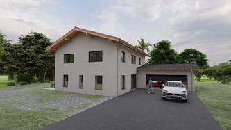 Innovative und individuelle Einfamilienhäuser schlüsselfertig bauen