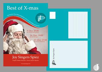 Design Flyer Gestaltung Printmedien Berner Region