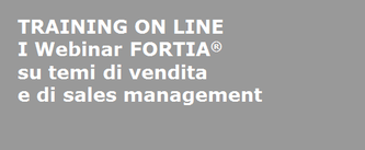 FORTIA webinar - training on line