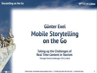 Mobile Storytelling #PTTC14 Lisboa