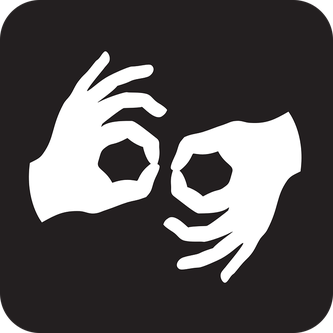 Logo des langues des signes