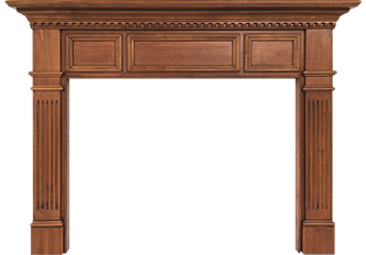 Cleveland's Belmont Wood Fireplace Mantel
