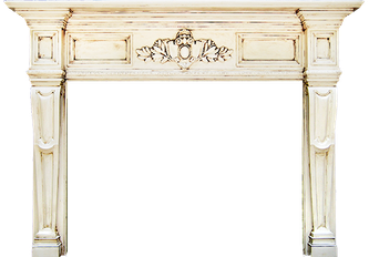 Carlisle Wood Fireplace Mantel