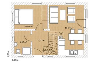 Haus Nordkap 80 Grundriss EG