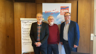 Harald Eichner, Dietmar Tendler, Folke große Deters