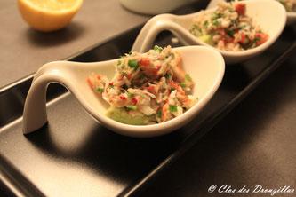 Avocat + crabe