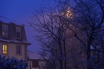 Blaue Morgenstimmung