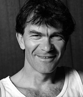 L'alpinista sloveno Tomo Cesen