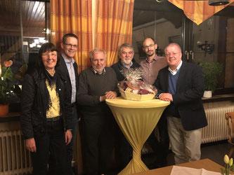 v.l.n.r.: Ulla Lehmann, Thorsten Baumgart, Gerhard Blumenthal, Horst Geller, Marco Niermeier, Dr. Ulrich Klotz