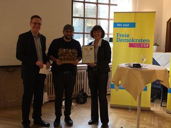 Thorsten Baumgart, Demokrat Ramadani und UIla Lehmann