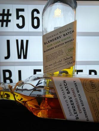Johnnie Walker The Blenders' Batch Espresso Roast & Rum Cask Finish Verpackung