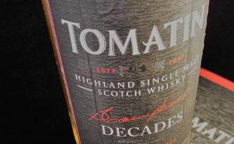Tomatin Decades Umverpackung