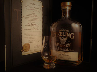 Teeling Revival No.3 - Pineau des Charentes Finish. Umverpackung und Flasche