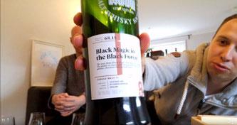 Etikett: Blair Athol 68.15 Black Magic in the Black Forest
