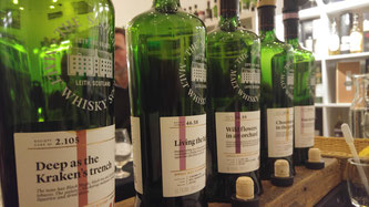 Line Up: Scotch Malt Whisky Society March Outturn Tasting 2018