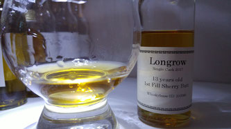 Longrow 13 Jahre First Fill Sherry Cask