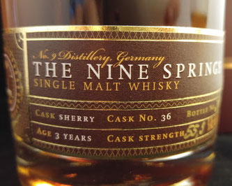 The Nine Springs Sherry Cask