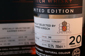 Arran 1997 / 2017 selected by Kammer Kirsch