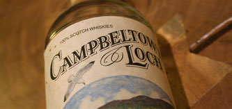 Campbeltown Loch Blended Scotch Whisky Flasche