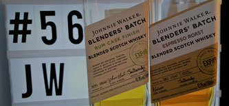 Johnnie Walker The Blenders' Batch Espresso Roast & Rum Cask Finish Flaschen