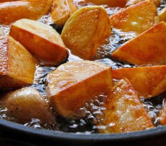 friterte poteter andefett oppskrift and