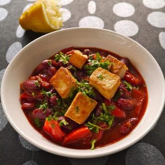 bønner gryte chili tofu