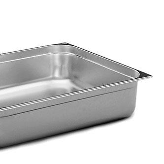 stålfat proft kjøkkenutstyr stålbakke