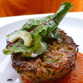 Squashburger vegetarburger vegetarmat yngve ekern oppskrift vegetarisk