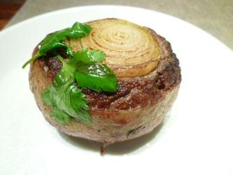 Hjemmelaget hamburger bacon biff