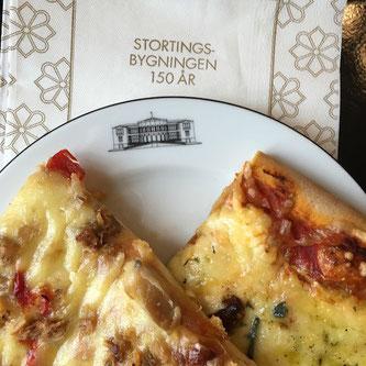 stortingsrestauranten stortinget 150 år kjøttfrie dager fredagspizza