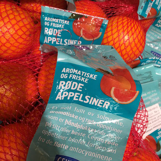 Blodappelsiner oppskrift