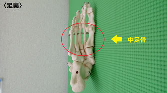 小倉北区の整骨院、サクマ整骨院の中足骨矯正