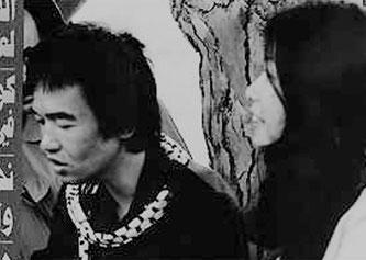 Kōzō Okamoto og Fusako Shigenobu (1972)