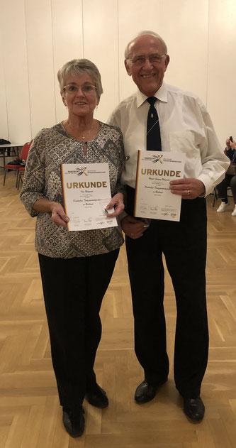 Ilse und Heinz-Jürgen Wagner nach ihrer 12. DTSA-Teilnahme