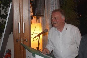 Der scheidende Vorstand Peter Seidel.