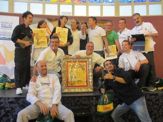 Bar España バル・エスパーニャ(札幌)アクセス賞受賞(写真提供:盛千夏さん@スペイン庶民生活)