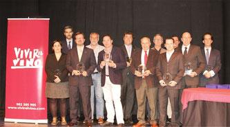 Vivir el Vino、ワインガイドブック『los 365 Mejores Vinos 2014 2014年版ベストワイン365』出版記念式典開催 (www.vinetur.com)