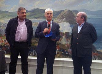 Pedro Aibar ペドロ・アイバル氏、サン・セバスチャンで開催されたOnly Wine賞にてムンド・デル・ヴィノ賞受賞 (www.vinetur.com)