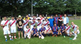 SP96 und SP Barrio 96 - Beide Teams überzeugten in ihren Gruppen.