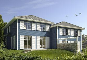 Ein Doppelhaus lohnt sich: Mit einer geteilten Hauswand lassen sich individuelle Wohnträume verwirklichen und zugleich Geld sparen. Foto: Fotolia.com