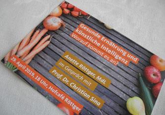 """Gesunde Ernährung und künstliche Intelligenz - worauf kommt es an?"""""""