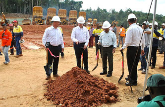 Newmont Mining's new mining project in Suriname
