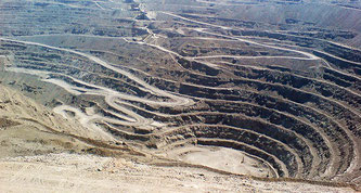 The world's most productive gold mine is Muruntau in Uzbekistan at 61 tonnes per year