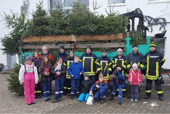 Tannenbaum Fürth.Neuer Baum Rekord Bei Tannenbaum Aktion Der Jugendfeuerwehr Fürth